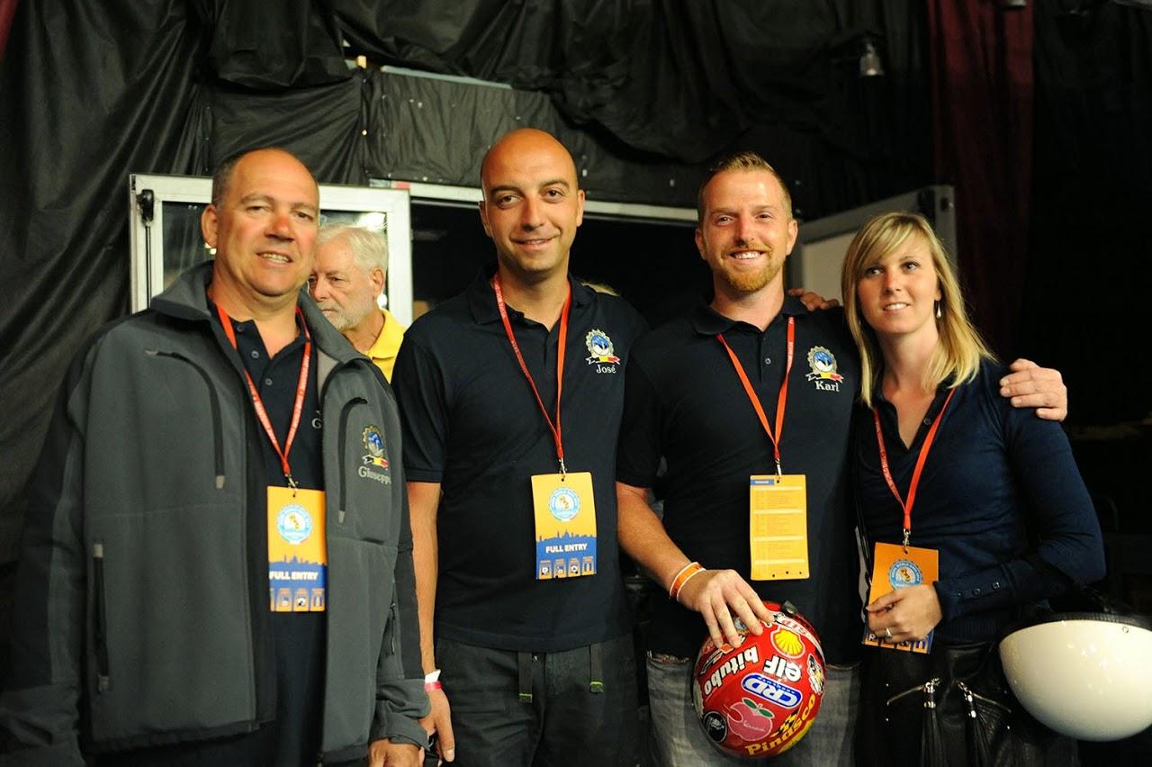 Giuseppe F, José, Jessy & Karl