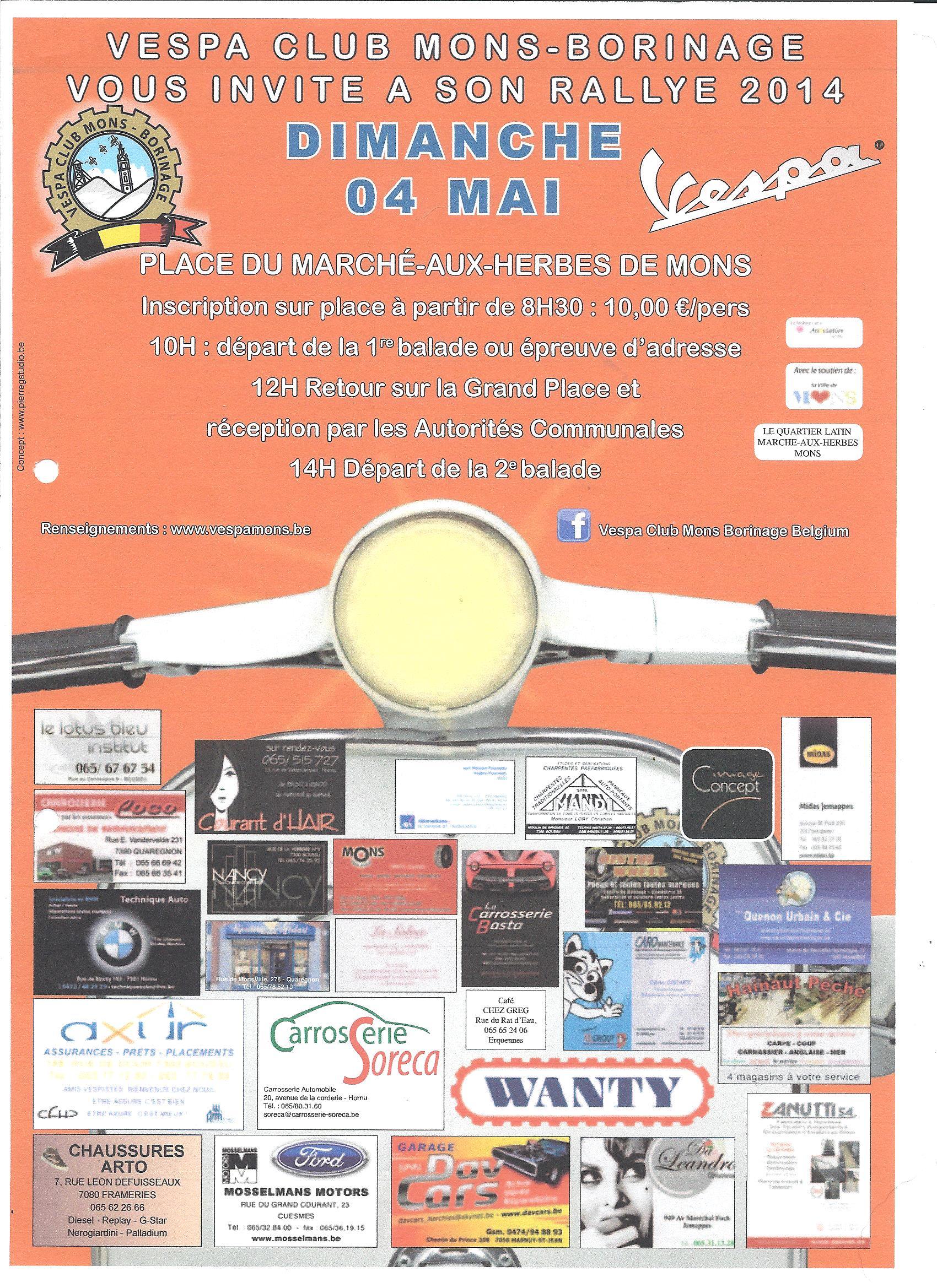 Affiche Rallye 2014