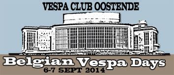 Belgian Vespa Days 2014