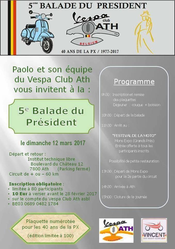 Balade du Président Ath 2017