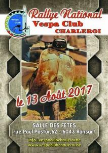 Rallye VC Charleroi 2017