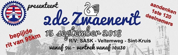 Affiche 2e Zwaenerit 2018 (VC Bruges)