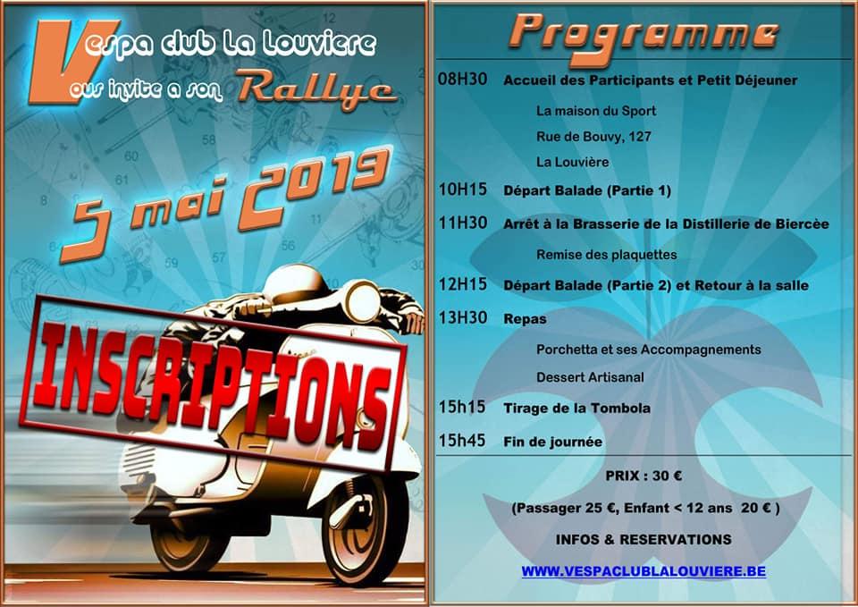 Rallye VC La Louvière 2019.1