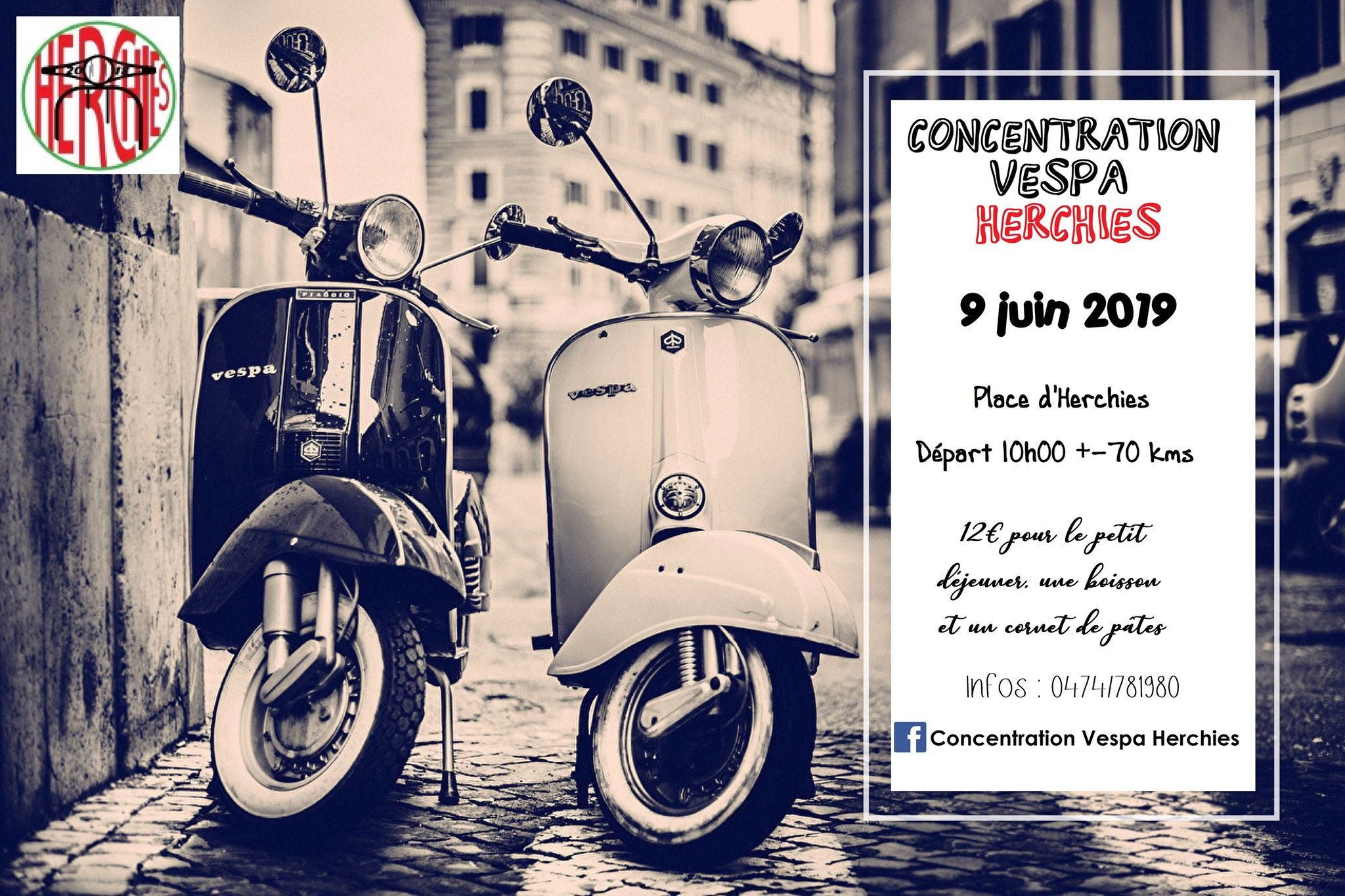 Concentration Vespa Herchies 2019