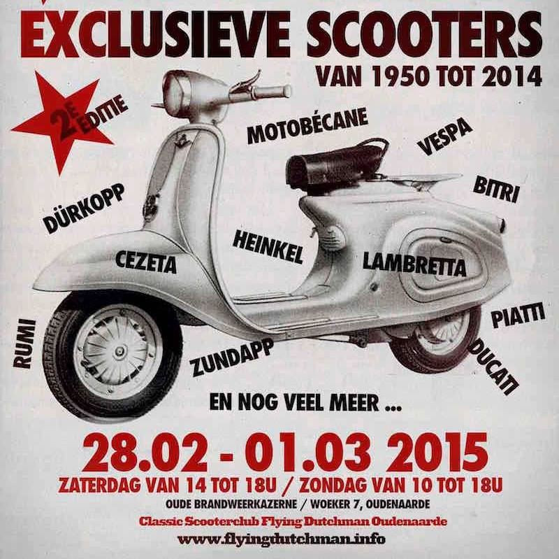 Expo scooters Audenaerde 2015