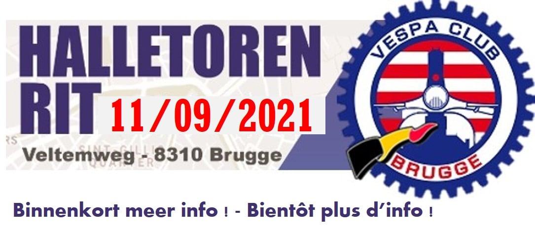 Halletorenrit VC Bruges 2021
